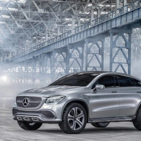 Mercedes Benz Introduces Concept Coupe SUV