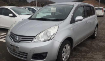 2012 Nissan Note-Import