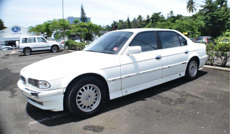 2000 BMW 740 full
